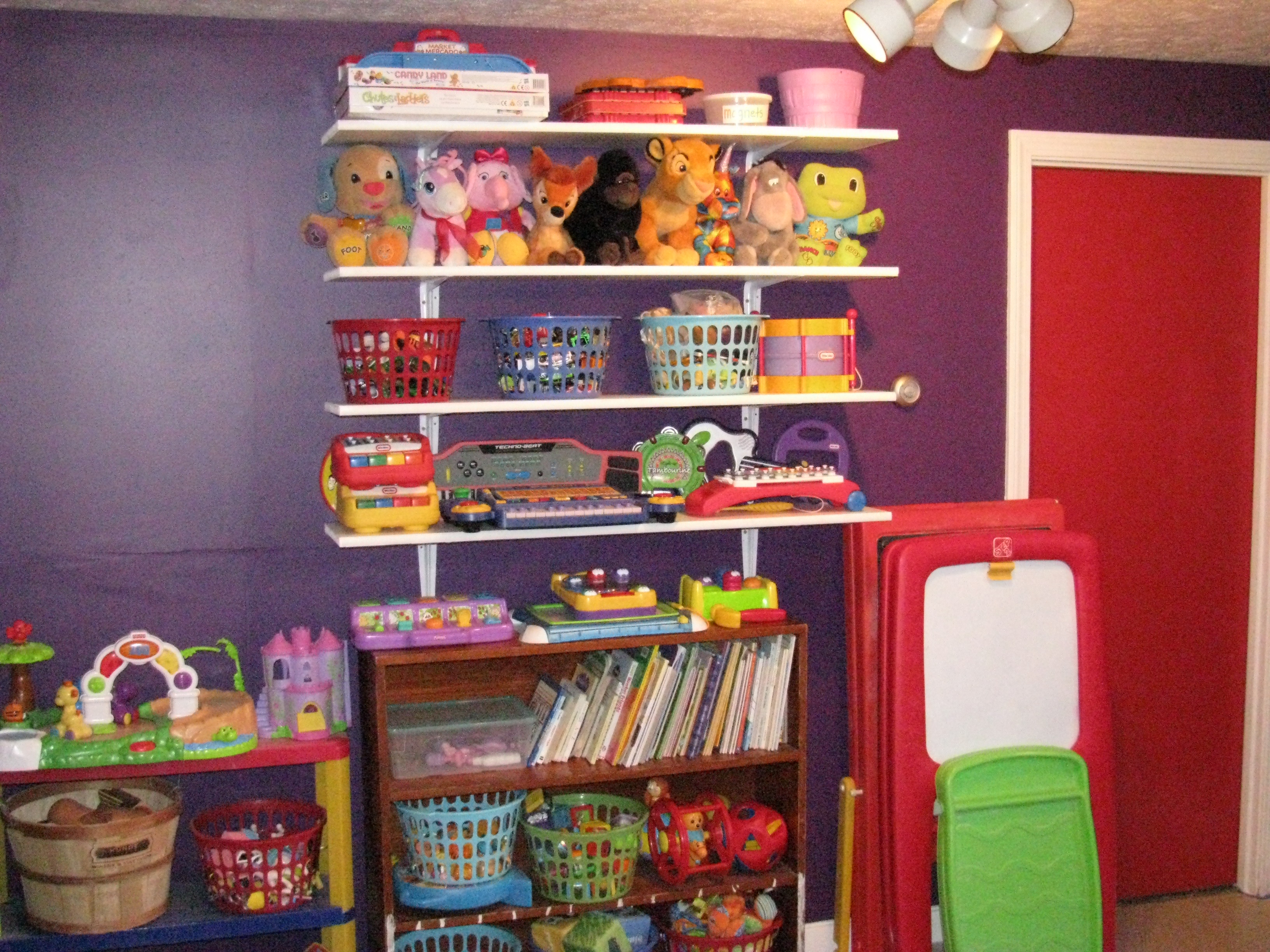 new daycare room