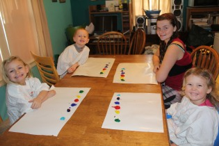 DAY CARE FINGER PAINT COOKING 001