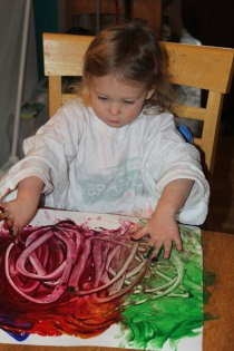 DAY CARE FINGER PAINT COOKING 008