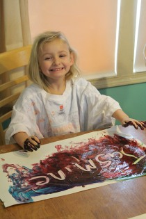 DAY CARE FINGER PAINT COOKING 012