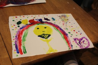 DAY CARE FINGER PAINT COOKING 019