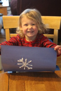 DAYCARE LETTERS, CRAFTS SLEDDING DEC 8 2012 011