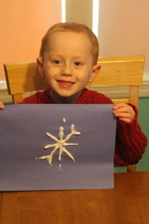 DAYCARE LETTERS, CRAFTS SLEDDING DEC 8 2012 012