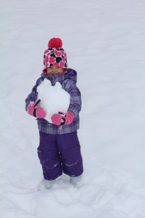 DAYCARE SNOWMEN SLEDDING JAN 29 2013 022