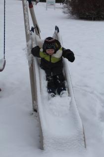 DAYCARE SNOWMEN SLEDDING JAN 29 2013 027