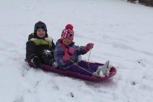 DAYCARE SNOWMEN SLEDDING JAN 29 2013 041