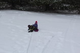DAYCARE SNOWMEN SLEDDING JAN 29 2013 042