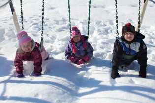 DAYCARE OUT IN THE SNOW FEB 13 2013 026