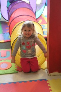 DAYCARE PAINTING TUNNEL PLAY DOH MARCH 5 2013 024