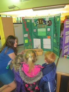 Brianna's Sciencen project and DAycare Library June 11 2013 002