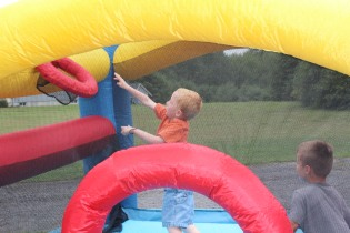 DAYCARE BOUNCE HOUSE CATERPILLAR JULY 9 2013 032
