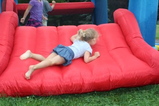 DAYCARE BOUNCE HOUSE CATERPILLAR JULY 9 2013 041