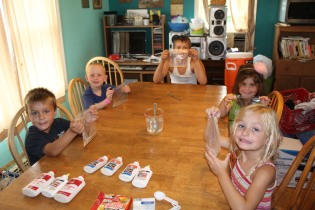 DAYCARE SILLY PUTTY SLIME FLOWERS JULY 29 2013 001