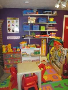 NEW LOOK TO THE DAYCARE ROOM JULY 7 2013 001