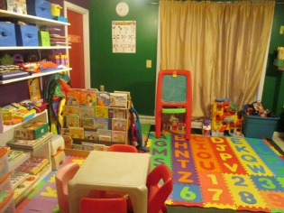 NEW LOOK TO THE DAYCARE ROOM JULY 7 2013 003