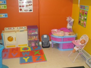 NEW LOOK TO THE DAYCARE ROOM JULY 7 2013 006