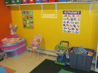 NEW LOOK TO THE DAYCARE ROOM JULY 7 2013 013