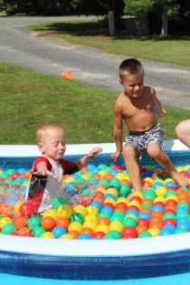 DAYCARE BALLS IN POOL RAINBOW AUG 5 2013 010