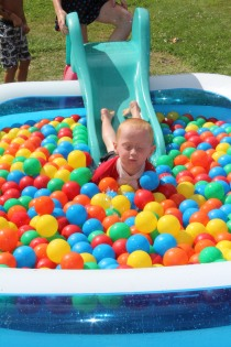 DAYCARE BALLS IN POOL RAINBOW AUG 5 2013 016