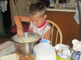 DAYCARE CRAFTS COOKING AUG 8 2013 054